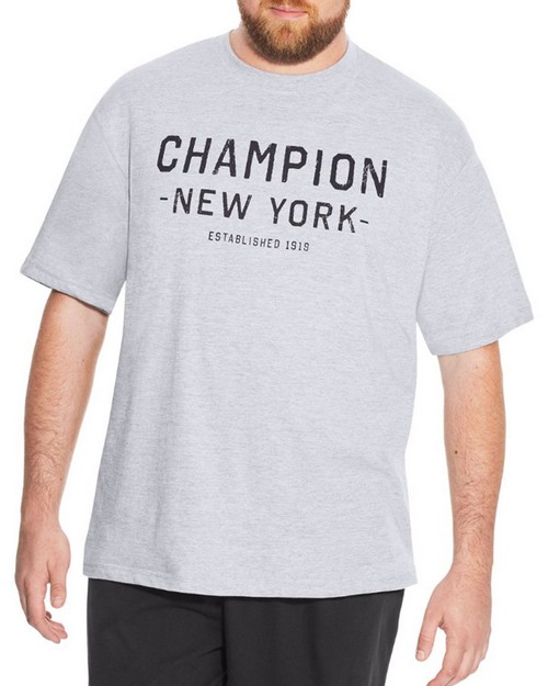 Champion CH513 Big & Tall Mens Short-Sleeve Graphic Tee