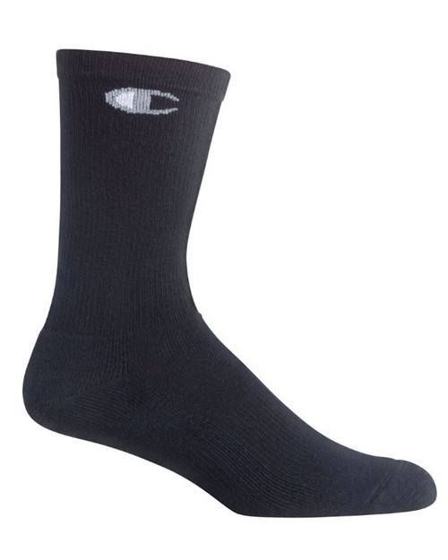 Champion CH611 Mens Crew Socks 6-Pack