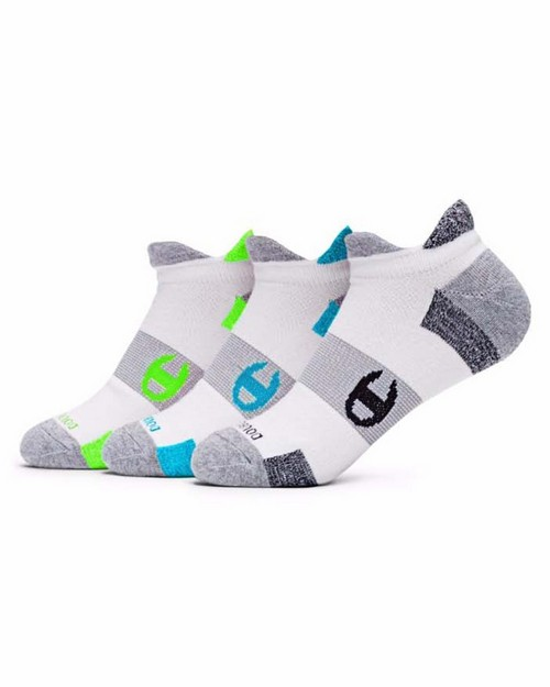 Champion Ch660 Womens Double-Heel Shield Running Socks 2-Pack