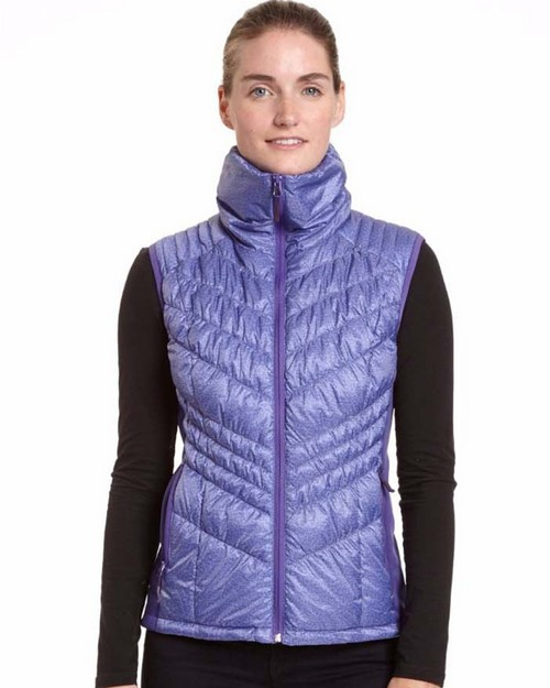 Champion Ch7003hp Womens Hybrid Performance Poly With Active Knit Vest