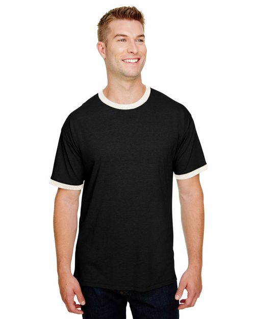 Champion CP65  Adult Triblend Ringer Tee