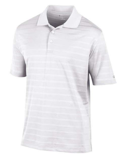 Champion G3012 Mens Textured Solid Polo Shirt