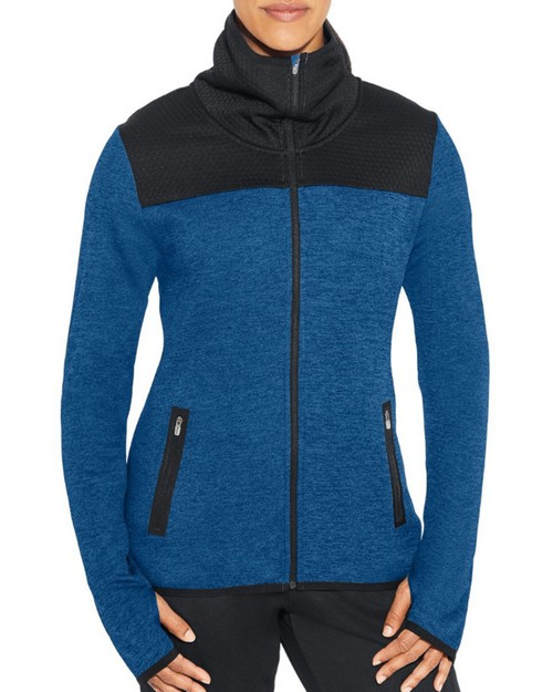 Champion J29900 Womens Premium Tech Fleece Full Zip Jacket
