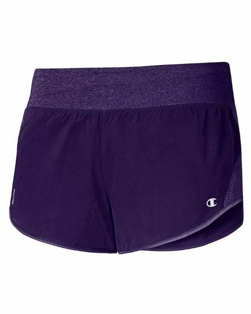 Champion M0912t Gear Womens Marathon Run Shorts With Brief