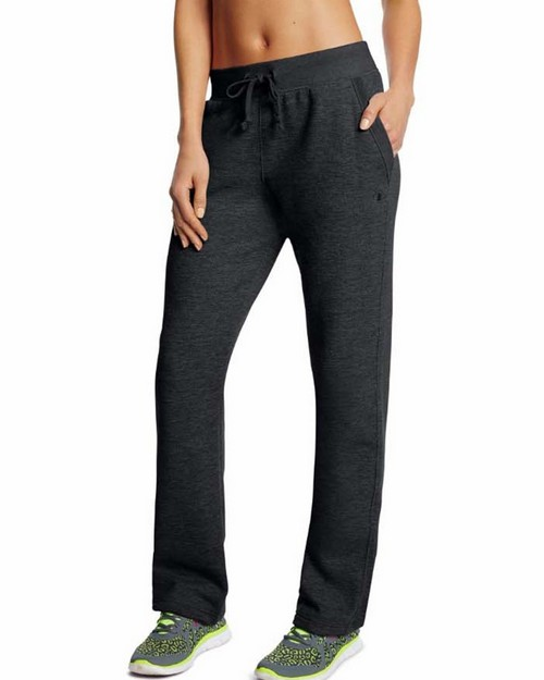 Champion M1064 Womens Fleece Open Bottom Pants