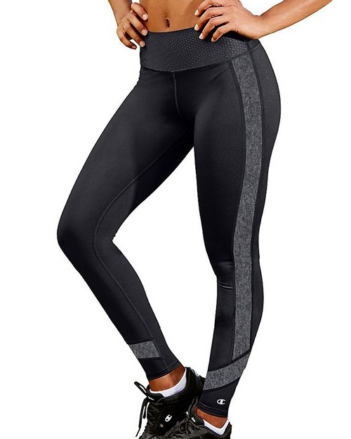 Champion M1257 Womens Absolute Colorblock Tights With Smoothtec Waistband