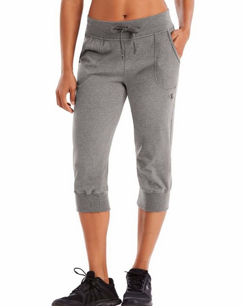 Champion M7419 Authentic Womens Jersey Banded Knee Pants