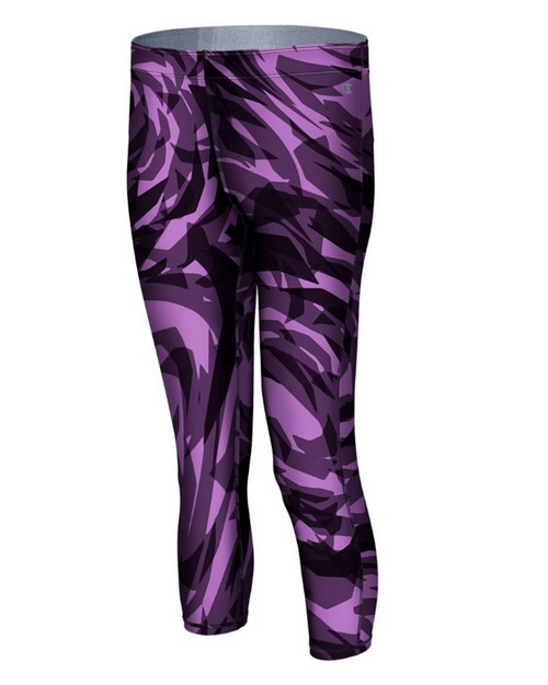 Champion M8878P Go To Womens Print Knee Tights