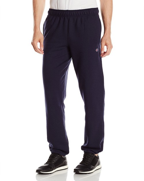 Champion P0894 Mens Powerblend Fleece Relaxed Bottom Pants