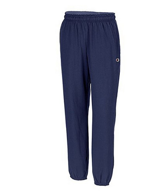 Champion P7310 Authentic Mens Closed Bottom Jersey Pants
