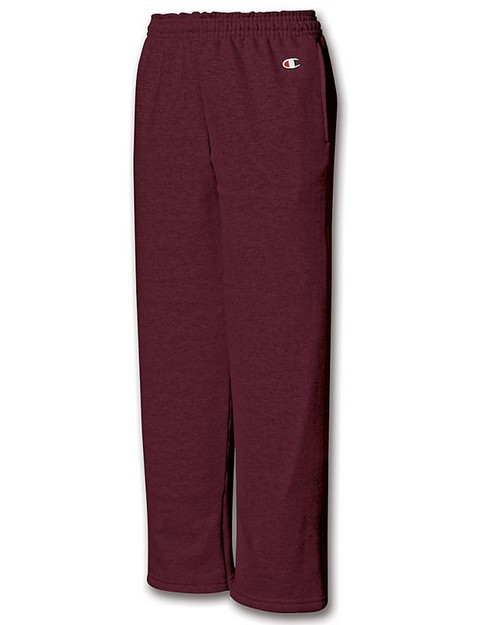 Champion P890 Youth Double Dry Action Fleece Open Bottom Pant