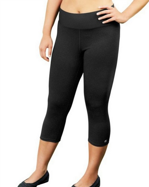 Champion QM0979 Womens Plus Absolute Capris With SmoothTec Waistband