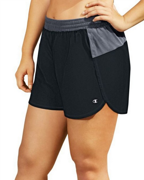 Champion QM0984 Womens Plus Sport Shorts 5