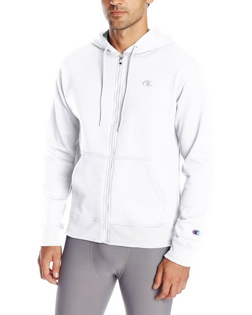 Champion S0891 Mens Powerblend Fleece Full Zip Jacket