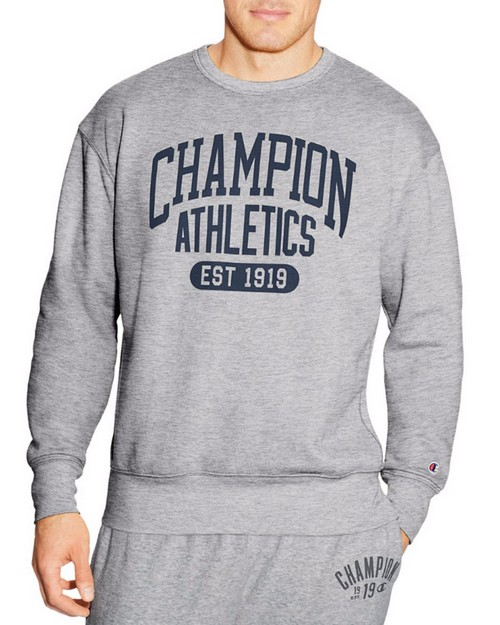 Champion S1230 Mens Heritage Fleece Crew Sweatshirt