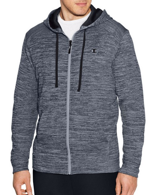 Champion S29786 Mens Premium Tech Fleece Full Zip Hoodie