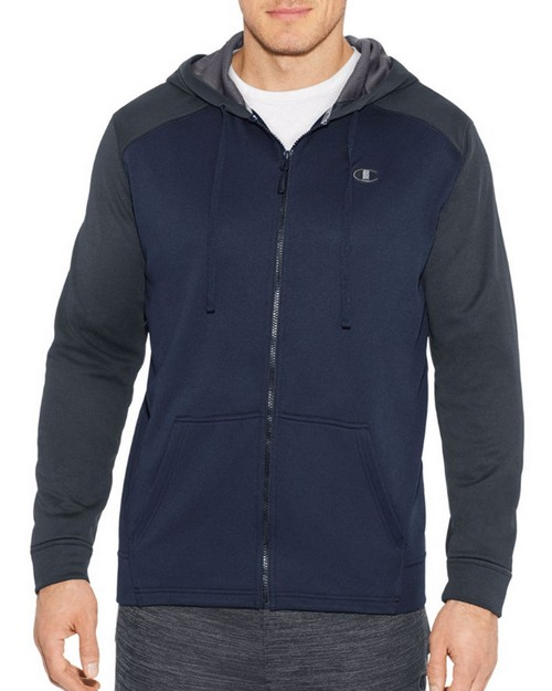 Champion S31228 Mens Tech Fleece Full Zip Hoodie