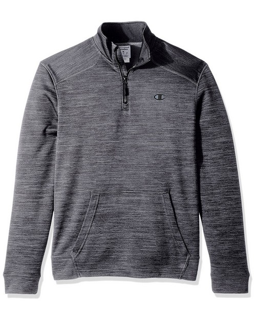 Champion S31654 Mens Premium Tech Fleece Quarter Zip