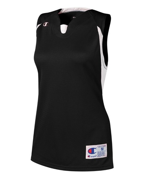 Champion SF10 Womens and Girls Strike Double Dry Sleeveless Jersey