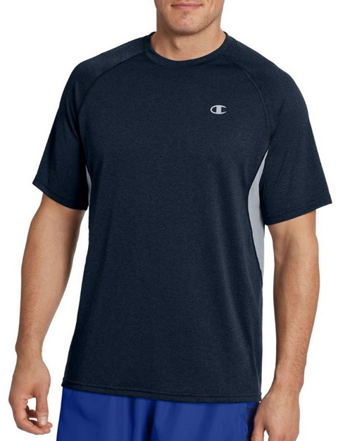Champion T0049 Vapor Mens Heather Tee With Side Vents