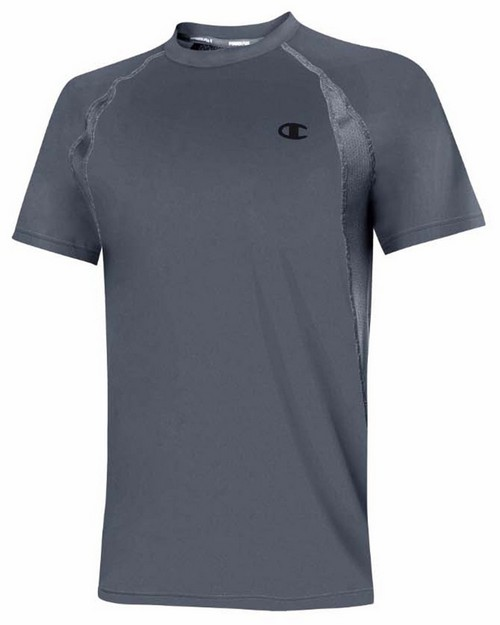 Champion T0193T Gear Mens Power Flex Short-Sleeve Tee
