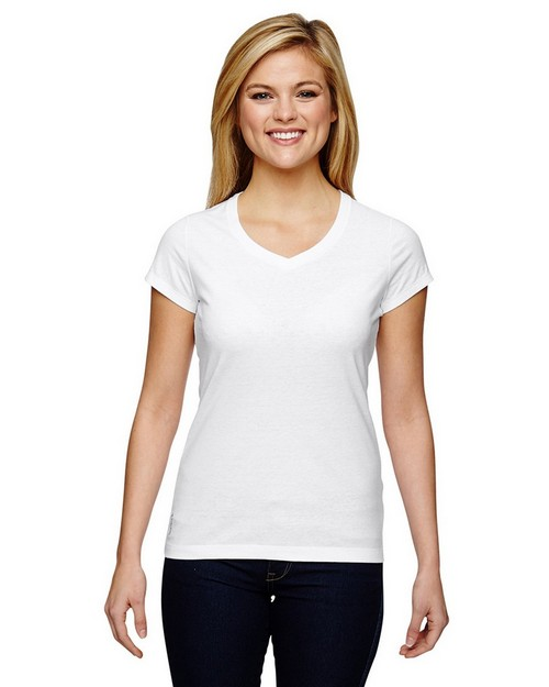 Champion T050 Vapor Ladies Cotton Short Sleeve T-Shirt