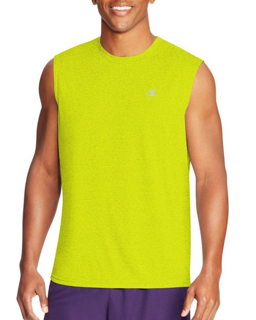 Champion T0767 Vapor Mens Heather Muscle Tee