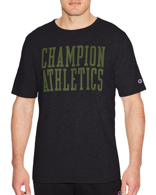 Champion T1235 Mens Heritage Short Sleeves Slub Tee