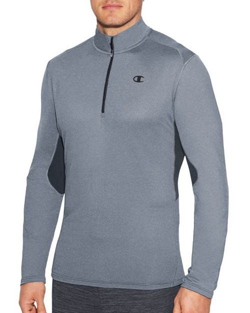 Champion T29864 Mens Training Quarter Zip