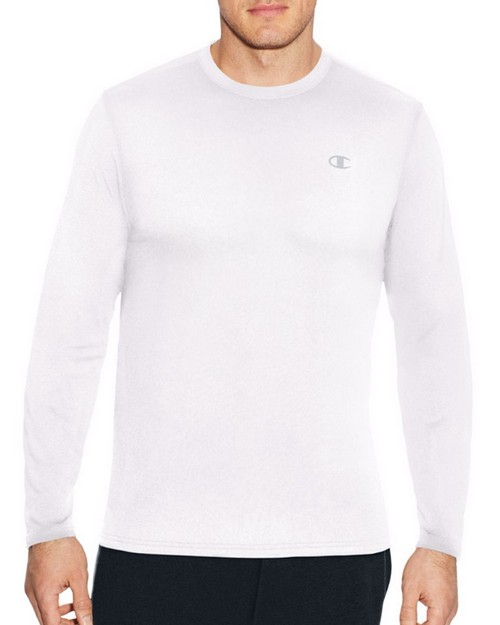 Champion T3760 Mens C Vapor Heather Long Sleeve Tee