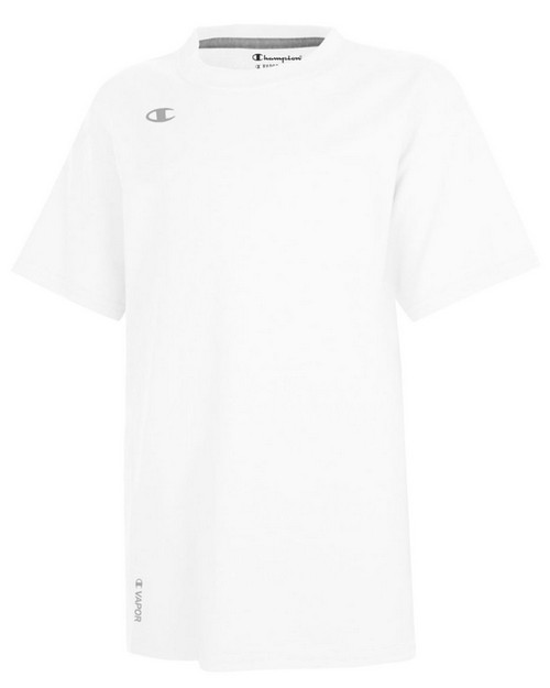 Champion T385 Youth Vapor Cotton Short Sleeve T-Shirt