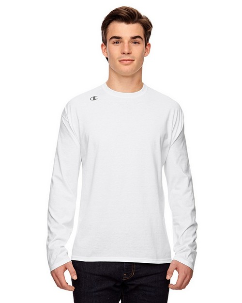 Champion T390 Vapor Cotton Long Sleeve T-Shirt