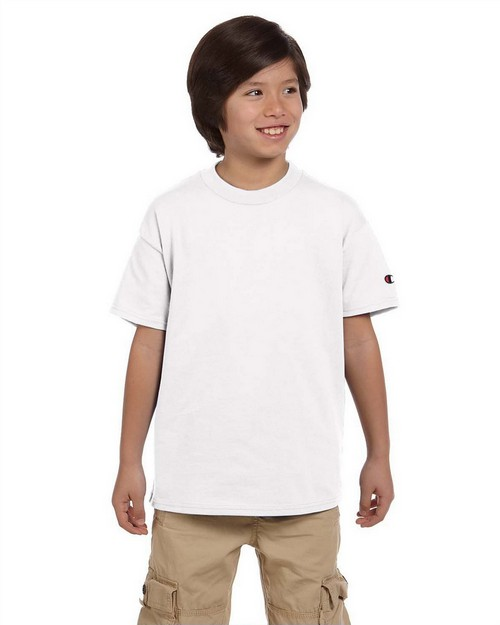 Champion T435 Youth Tagless T Shirt