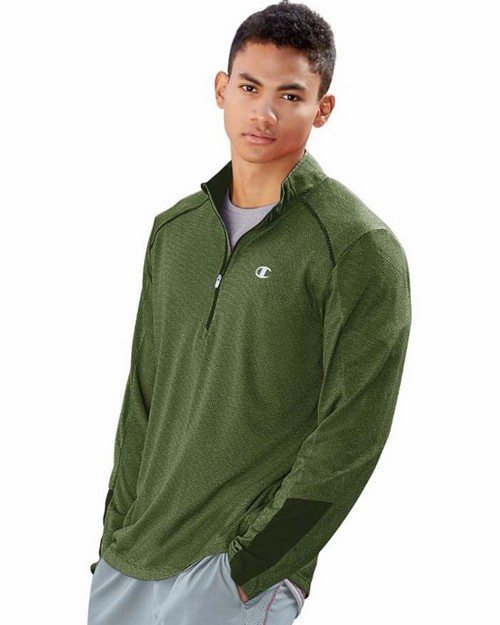 Champion T9156 Vapor Mens Half Zip