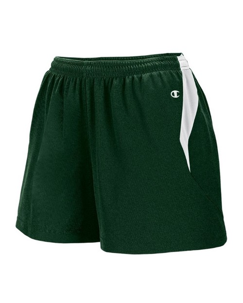 Champion TW71 Womens Track Contrast Inserts Short