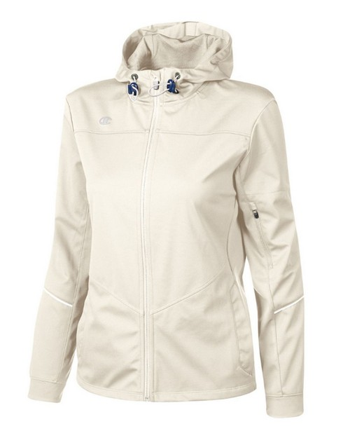 Champion V745 Womens Hooded Softshell Jacket