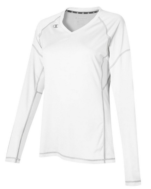 Champion VB01 Womens Volleyball Long Sleeve T-Shirt