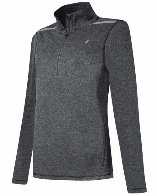 Champion W0548T Gear Womens Marathon 1/4 Zip Long-Sleeve Top