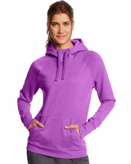 Champion W0934 Womens Fleece Pullover Hoodie