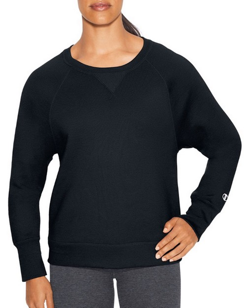 Champion W29567 Womens Fleece Boyfriend Crew