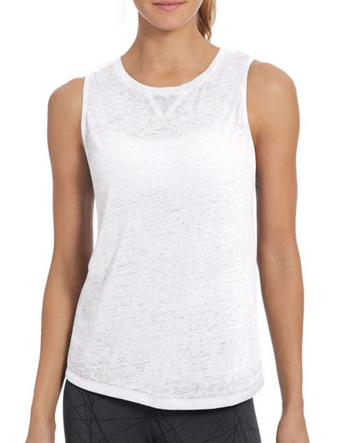 Champion W50070 Womens Authentic Wash Muscle Tank