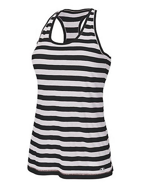 Champion W7644 Authentic Womens Striped Tank