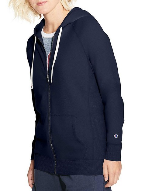 Champion W9494 Womens Heritage French Terry Zip Hoodie