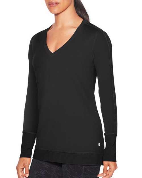 Champion W9914 Womens Absolute Mesh Long Sleeve Tee