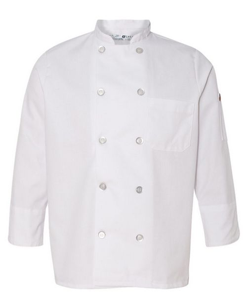 Chef Designs 0401 Womens Ten Button Chef Coat