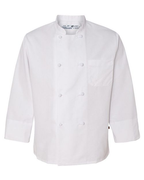 Chef Designs 0411 Eight Knot Button Chef Coat