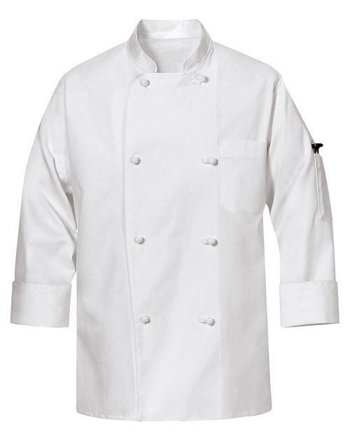 Chef Designs 0440 100% Cotton Chef Coat