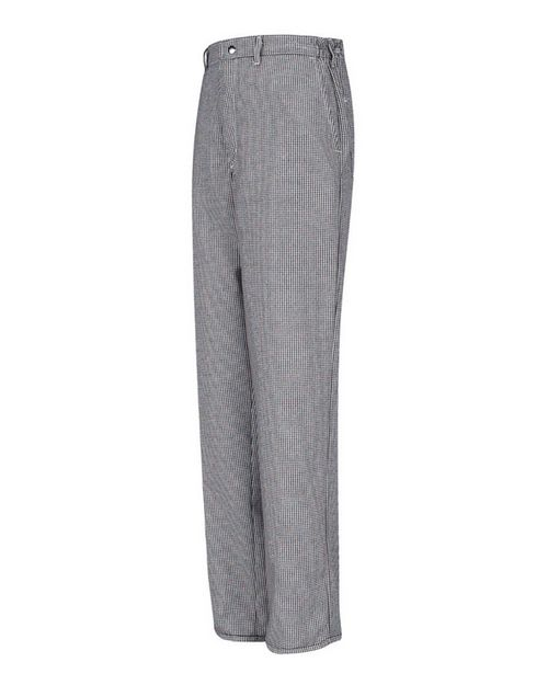 Chef Designs PS64 Spun Poly Checked Cook Pants