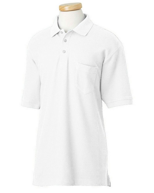 Chestnut Hill CH100P Performance Plus Pique Polo with Pocket
