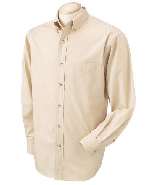 Chestnut Hill CH590 Mens Pima Cotton Poplin